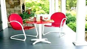 retro metal outdoor furniture. Exellent Furniture Metal Outdoor Furniture Retro  Table And Chairs Inside Retro Metal Outdoor Furniture
