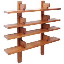 modern wood wall mounted book shelves