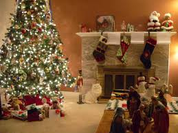 Living Room Christmas Decoration Christmas Living Room Decorating Ideas Home Design Ideas