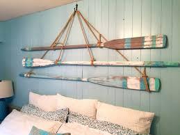 fashionable wall arts metal wall art beach decor vintage oar paddle in beach themed wall
