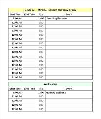 Loan Format In Excel Daily Schedule Excel Template In Format Loan Amortization Calendar