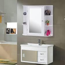 Giantex Mehrzweck Montieren Wand Oberfläche Badezimmer Schrank Mit