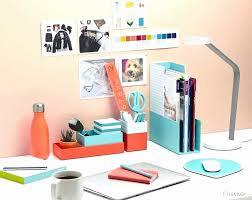 colorful office accessories. Fun Office Desk Accessories Inspirational Supplies Fice Colorful Modern Organizer For P