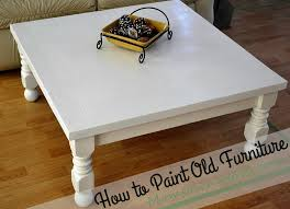 how to paint old furniture makeover