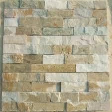 china natural slate stone wall cladding panel veneer culture stone mosaic tiles