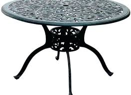48 round glass patio table top replacement white sand outdoor resin series inch cast aluminum dining 48 glass patio table