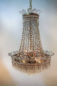 1930 s spanish empire style crystal chandelier for 5