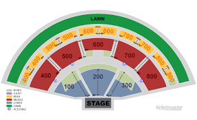 Xfinity Theater Ct Seating Chart Farm Aid