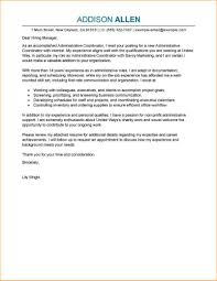 Administrative Cover Letter Examples Business Proposal Templated