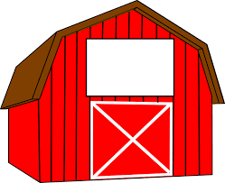 red barn clip art transparent. Interesting Red Barn Doors Clip Art And Free Images On Pixabay Transparent 2