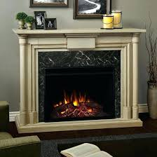 ventless electric fireplace vent free insert fireplaces electric