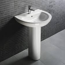bathroom vanities and pedestals | D4009 Bathroom pedestal sink ...