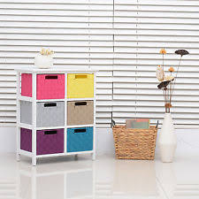 storage unit office. storage unit baskets shelf cupboard cabinet home office organiser w 6 drawers e