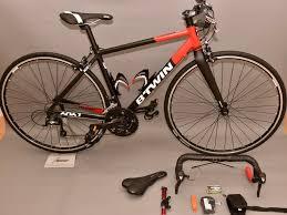B Twin Triban 520 Flat Bar Road Bike Xs Size Black Red Sora Spare Drop Bars With Sora In Crystal Palace London Gumtree