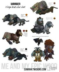 Troll Druid Color Chart Worgen Druid Color Chart In 2019 World Of Warcraft Game