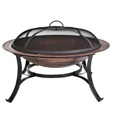 Catalina Creations 30 In Copper Fire Pit SetAD112  The Home DepotHome Depot Fire Pit