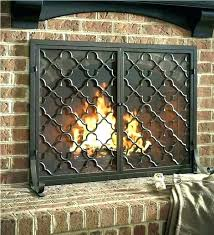 bronze fireplace doors screen with s oil rubbed 3 pleasant hearth fenwick small slide title antiq bronze fireplace screen doors glass