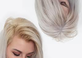 lightening or bleaching hair at