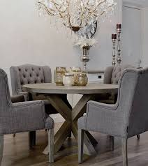 bright inspiration round grey dining table 27