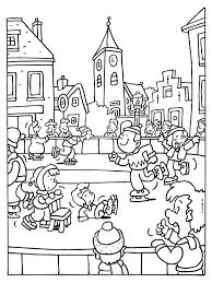 Kleurplaten Van Schaatsen Brekelmansadviesgroep