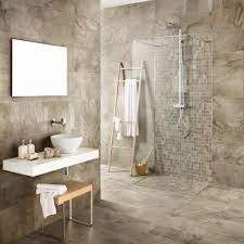 bayker bengal beige mosaic floor tiles from cosmo tiles interior beige bathroom image