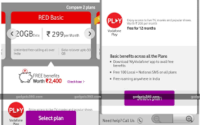 Vodafone Rs 299 Red Basic Postpaid Plan Offers 20gb Data To