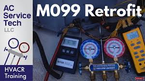 R 22 Conversion To R 438a M099 Reading Pressures Adding Refrigerant Disconnect