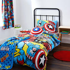 literarywondrous marvel comics duvet cover and pillowcase set marvel avengers bedding and curtains