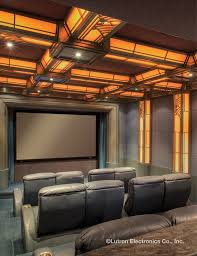 media room lighting. take your home theater to the next level with lutron light control wwwlutron media room lighting