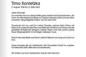 Assistierter Suizid Von Timo Konietzka Und Die Deutsche
