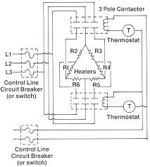 ohms law and wiring hotwatt heater element wattages must be equal to give balanced 3 phase circuit for both circuits