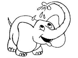 Small Picture Coloring Pages Animals Elephant Coloring Page Elephant Coloring