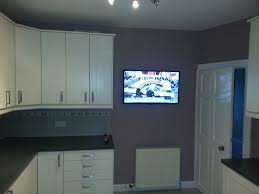 Kitchen Tv Flat Screen Tv Installations Aerial And Satellite Experts