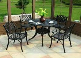 summerville patio furniture home depot wrought iron patio furniture patio amusing home depot outdoor dining table
