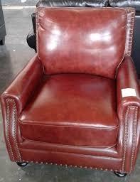 red leather chair.  Leather Red Leather Chair With N