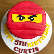 A ninjago cake for Curtis 5th Birthday! Full disclosure: I had to google  what/who Ninjago is but … | Ninjago cakes, Birthday cake kids boys, Birthday  cake toppers