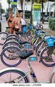 Bike Rental Vending Machines Gorgeous Bike Rental Station Deco Bike Miami South Beach Florida Usa Stock