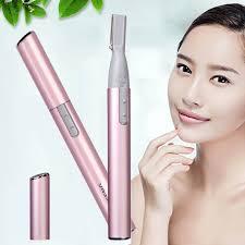 <b>Mini</b> Electric Eyebrow Trimmer Shaver <b>Portable Face</b> Body Shaver ...