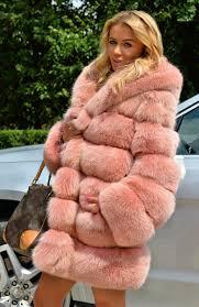 fox furs lafuria 2016 royal saga fox fur coat