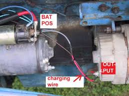 catalog and the wire harness on tractors and most other machinery is short in length fairly heavy gauge size wire the one wire alternator could satisfy the