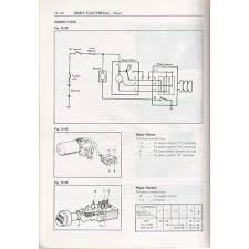 fj40 wiper motor wiring diagram fj40 wiring diagrams