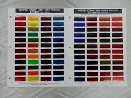 Hok Paint Color Chart 19 Exhaustive House Of Kolor Paint Chart