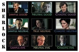 Alignment Chart Dnd Style Oc Sherlock