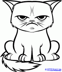 Cat Coloring Pages | Cats Coloring pages |Kitten Coloring pages ...