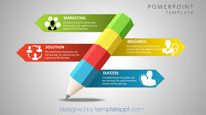 Best Ppt Templates Free Download 2018 Corner Of Chart And Menu