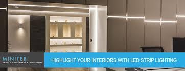 highlight lighting. LED Strip Lighting Highlight H