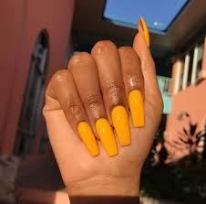 Image result for mustard yellow nails