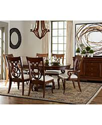 contemporary dining room furniture. Bordeaux Pedestal Round Dining Room Furniture Collection, Created For Macy\u0027s Contemporary W