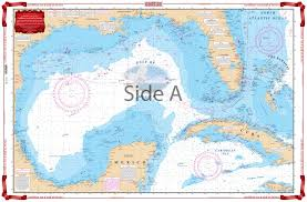 Ocean Depth Chart Caribbean And Gulf Of Mexico Planning Chart 4