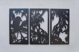 on laser cut metal wall art australia with australian bush wall art laser cut metal enfrex designs